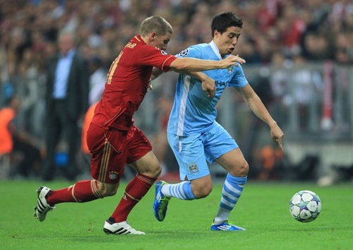 Soccer - UEFA Champions League - Group A - Bayern Munich v Manchester City - Allianz Arena